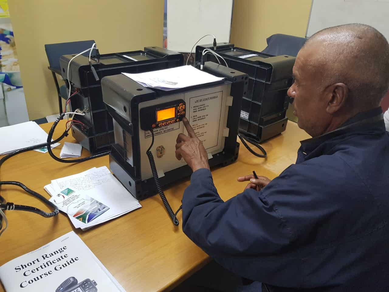 South African Fisheries Development Fund-Short range radio training